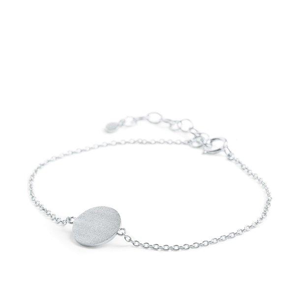 Pernille Corydon Small Coin Bracelet Silver