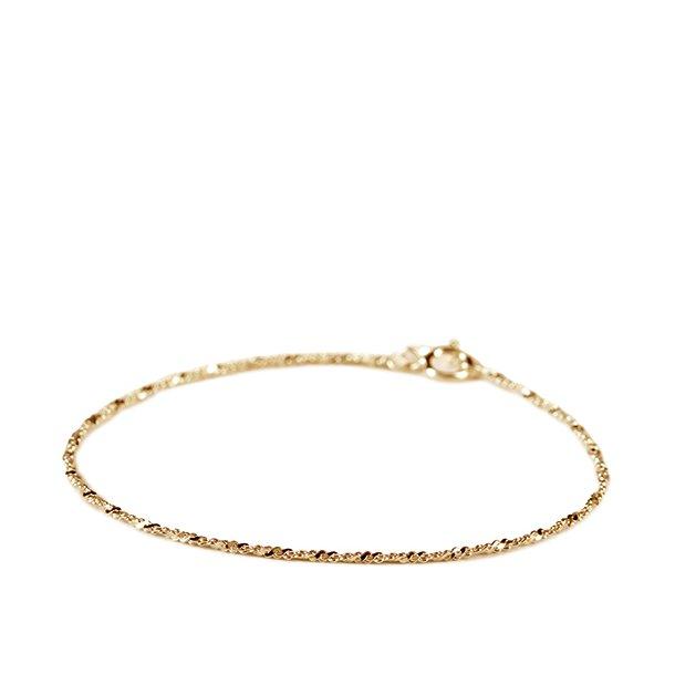 Pernille Corydon Twisted Facet Bracelet Forgyldt
