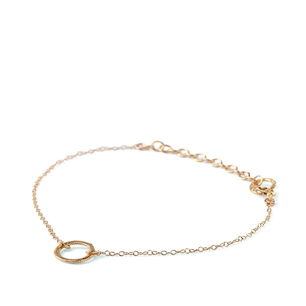 Pernille Corydon Circle Bracelet Forgyldt