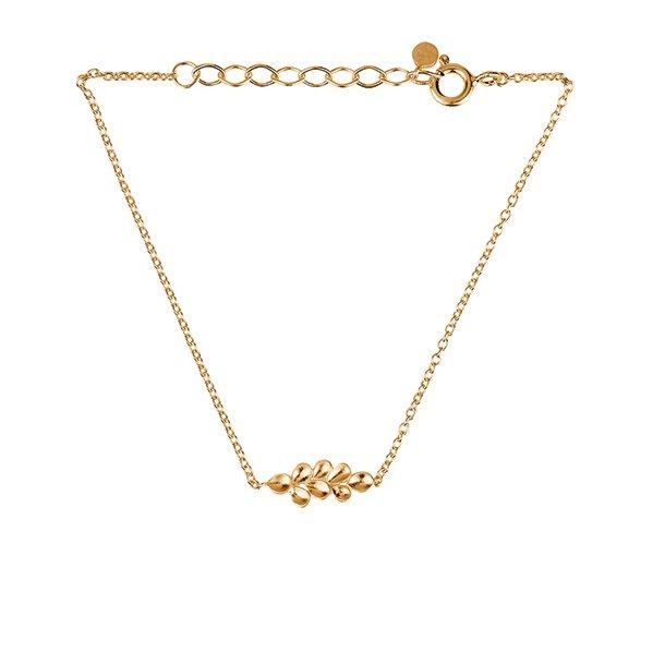 Pernille Corydon Forest Bracelet Adjustable Forgyldt