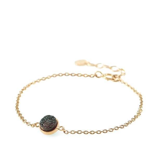 Pernille Corydon Small Eldfjall Bracelet Forgyldt