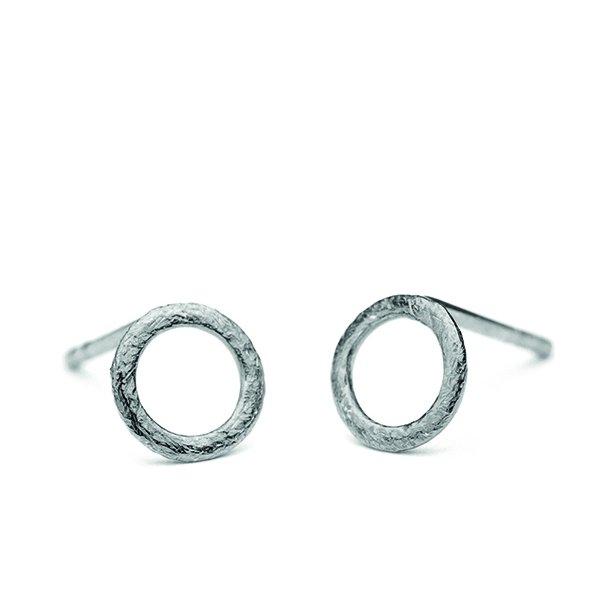 Pernille Corydon Circle Single Earstick Silver