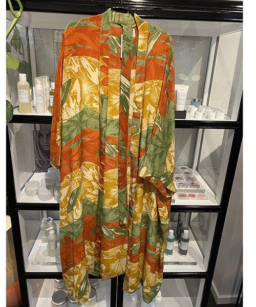 Relove And Roses Kimono Long (1) - Smukke silke kimonoer